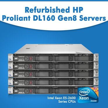 Second Hand HP Proliant DL160 Gen8 Servers