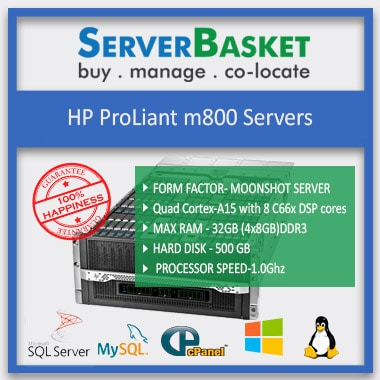 HP ProLiant M800 Server