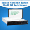 Second Hand IBM System X3630 M4 Rack Servers