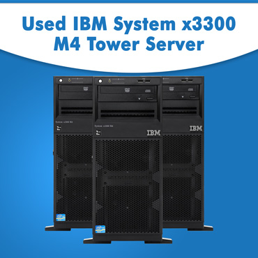 Used-IBM-System-x3300-M4-Tower-Server