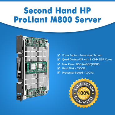 Second Hand HP ProLiant M800 Server