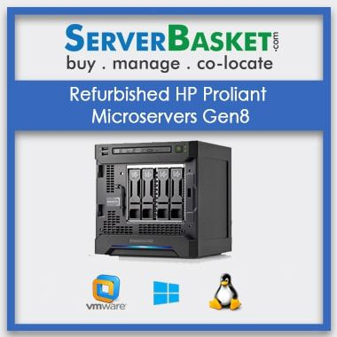 Buy HP Microserver Gen8 Server in India at Lowest Price from Server Basket, Purchase HP ProLiant Microserver Gen8 Server | HP Refurbished servers