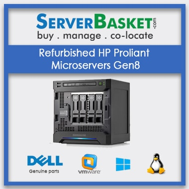 Buy HP Microserver Gen8 Server in India at Lowest Price from Server Basket, Purchase HP ProLiant Microserver Gen8 Server