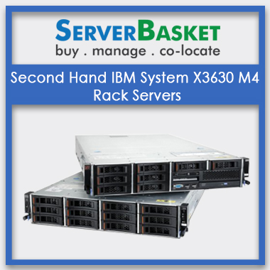 Second Hand IBM System X3630 M4 Rack Servers