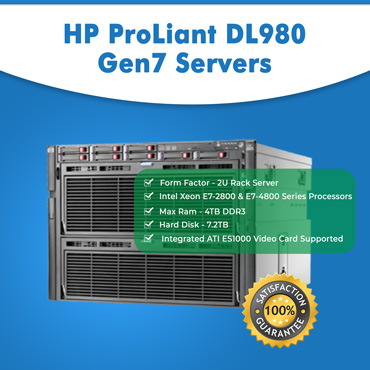 HP ProLiant DL980 Gen7 Servers