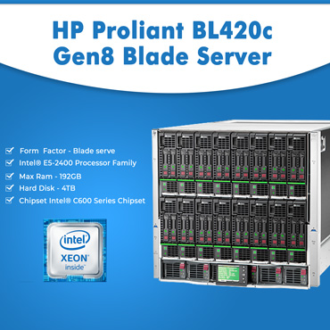 HP Proliant BL420c Gen8 Blade Server