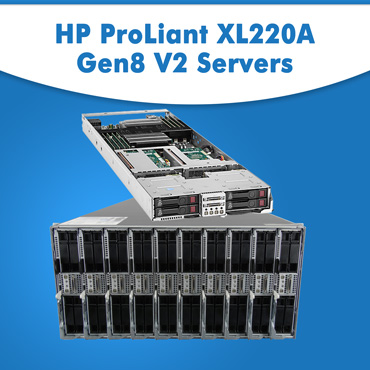 HP ProLiant XL220A Gen8 V2 Servers