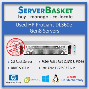 Buy HP ProLiant DL360e Gen8 Server in India at Lowest Price from Server Basket