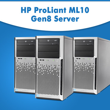HP ProLiant ML10 Gen8 Server