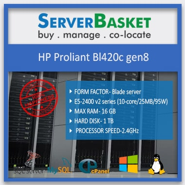 HP Proliant BL420c