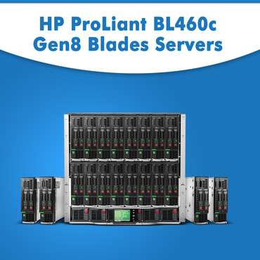 HP ProLiant BL460c Gen8 Blades Servers