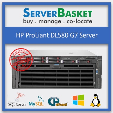 Buy Refurbished HP DL580 G7 Server in India at Lowest Price from Server Basket