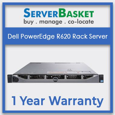 Buy Certified Dell PowerEdge R620 Server | Get Dell R620 Server at best price with 1-year warranty