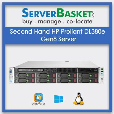 Buy Second Hand HP Proliant DL380e Gen8 Server In India, Purchase HP DL380e Gen8 At Cheap Price Online