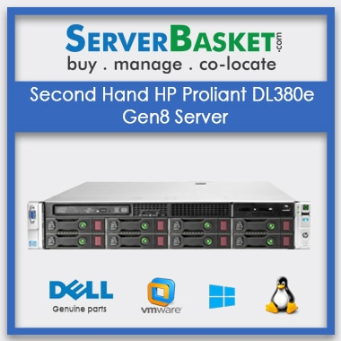 Buy Second Hand HP Proliant DL380e Gen8 Server In India