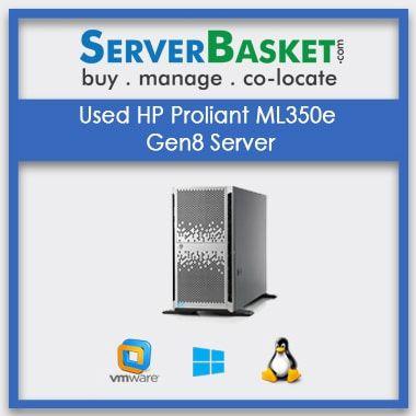 Used HP Proliant ML350e Gen8 Server