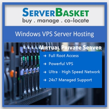 Windows VPS Server Hosting, Affordable VPS Hosting, Cheap VPS Hosting in India