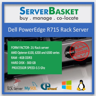 Buy Refurbished Dell R715 Server online from Server Basket