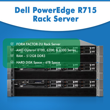 Dell PowerEdge R715 Rack Server