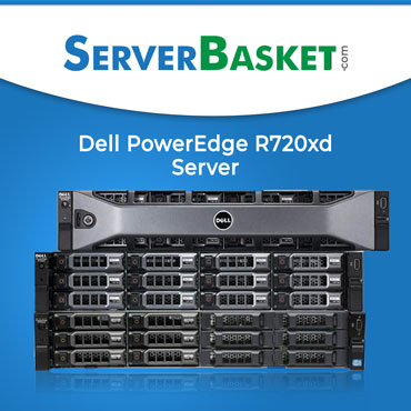 Dell PowerEdge R720xd server, Dell R720XD rack server, dell r720xd server price in India, buy dell r720xd server in India