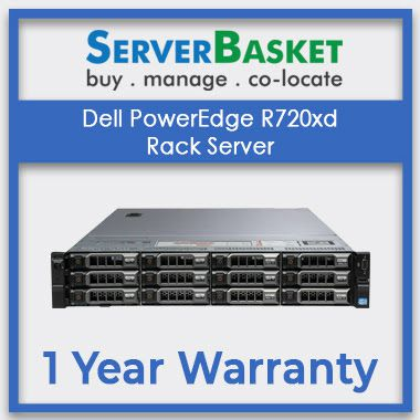 Buy Dell PowerEdge R720xd Rack Server | Dell R720xd 2U Rack Server | Dell rack, tower, Blade servers