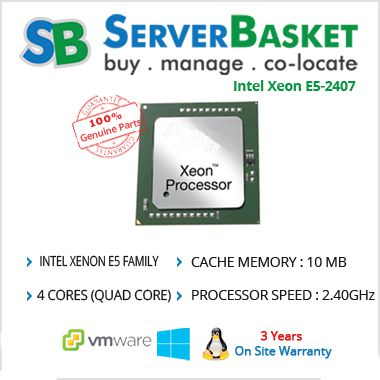 Intel Xeon E5-2407 v2 2_40GHz Processor | Buy Intel Xeon CPUs Online