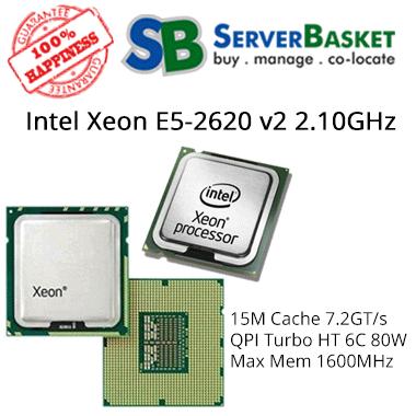 Intel Xeon E5-2620 v2 2.10GHz 15M