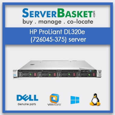HP ProLiant DL320e (726045-375) server