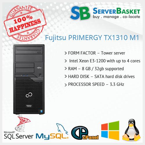 Buy Fujitsu Primergy TX100S3 servers online at low price in india
