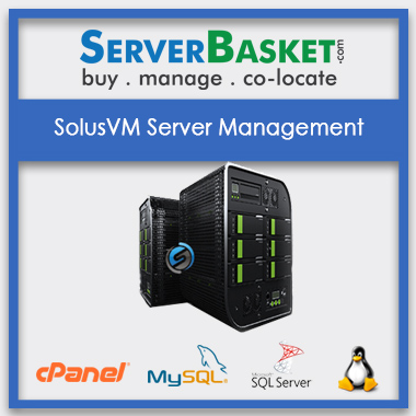 Buy SolusVM Server Management In India