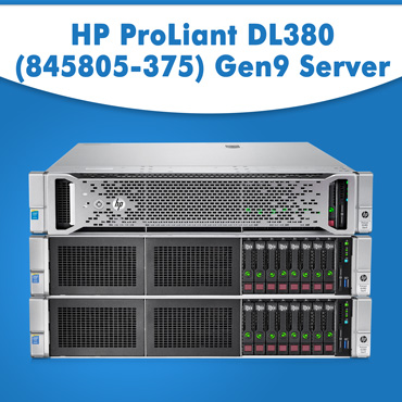 HP ProLiant DL380 (845805-375) Gen9 Server | HP servers | Refurbished servers
