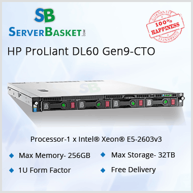 HP Proliant DL60 Gen9 Server Price, HP DL60 Server Online Buy