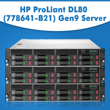 HP ProLiant DL80 (778641-B21) Gen9 Server | HP servers | Refurbished servers