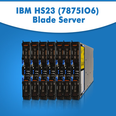 IBM HS23 (7875IO6) Blade Server | IBM HS23 Blade Server | IBM Blade Server Online