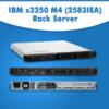 IBM x3250M4 (2583IEA) Rack Server   IBM x3250 M4 Server Online   IBM Server For Sale
