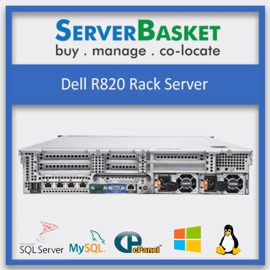 Buy Dell R820 Rack Server in India at Cheap Price Online from Server Basket, Purchase Dell R820 Online