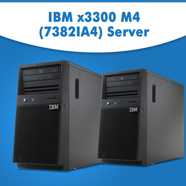 IBM x3300 M4 (7382IA4) Server | IBM x3300 M4 Server Online | IBM Rack Server for Sale