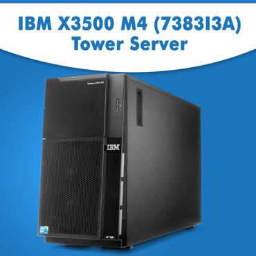 IBM X3500 M4 (7383I3A) Tower Server | IBM Tower Server Online | IBM X3500 M4 Server At Best Price