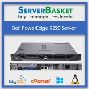 Buy Dell PowerEdge R220 Server in India at Lowest Price from Server Basket
