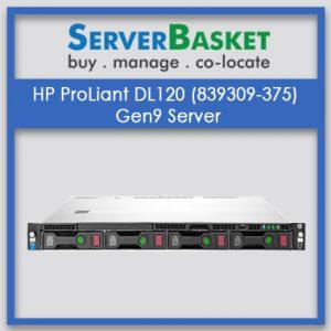 HP ProLiant DL120 (839309-375) Gen9