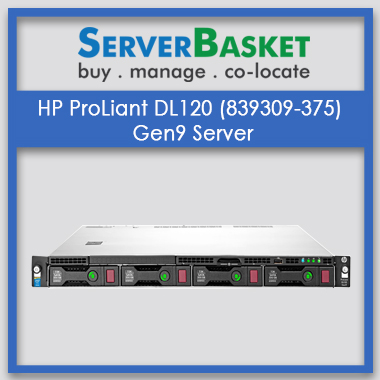 HP ProLiant DL120 (839309-375) Gen9
