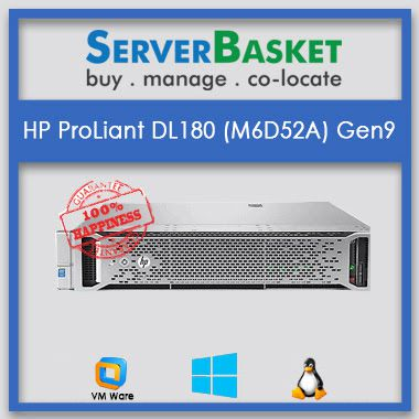 HP ProLiant DL180 (M6D52A) Gen9 | HP servers