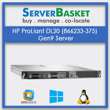 HP ProLiant DL20 (866233-375) Gen9 Server | HP servers | Refurb servers