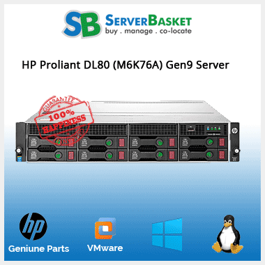 Buy HP ProLiant DL80(M6K76A) Gen9 Server Online At Low Price In INDIA