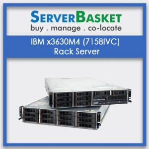 IBM x3630M4 (7158IVC) Rack Server