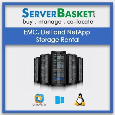 Buy Dell and NetApp Storage Rental In India