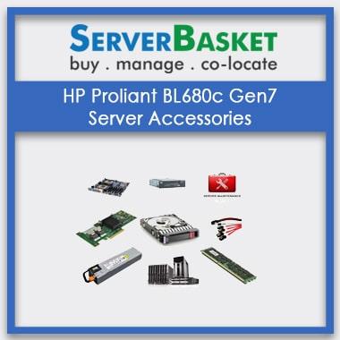 HP Proliant BL680c Gen7, HP Proliant BL680c Gen7 Server Accessories