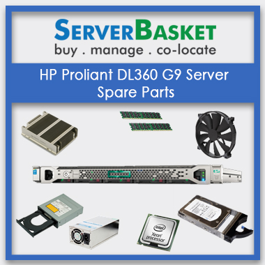HP Proliant DL360 g9 Server spareparts