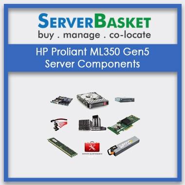 HP Proliant ML350 Gen5, HP Proliant ML350 Gen5 Server Components