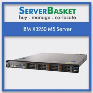 IBM X3250 M5 Server